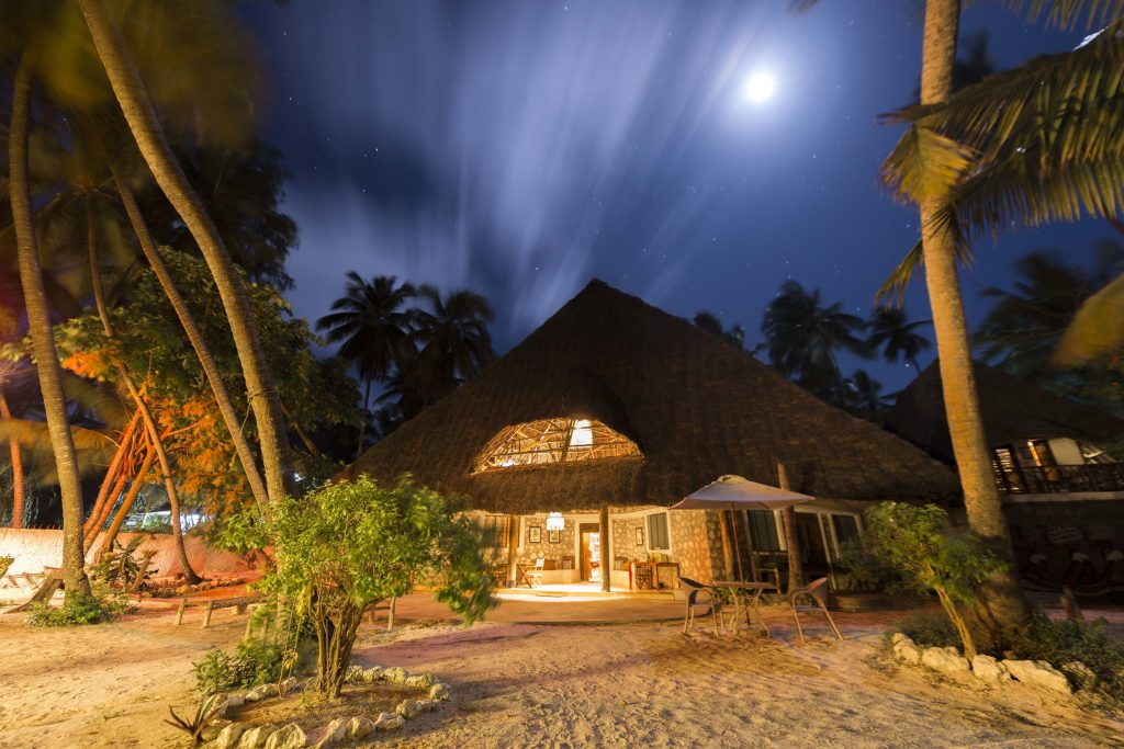 Utupoa Zanzibar at Night