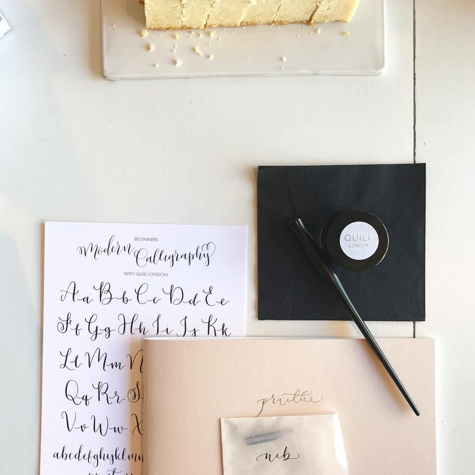 Justformechallenge-Calligraphy-Class