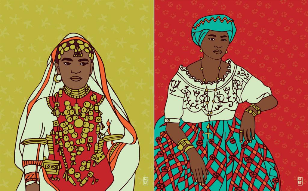 International-Womens-Day-Lulu-Kitololo-Illustrated-Portraits