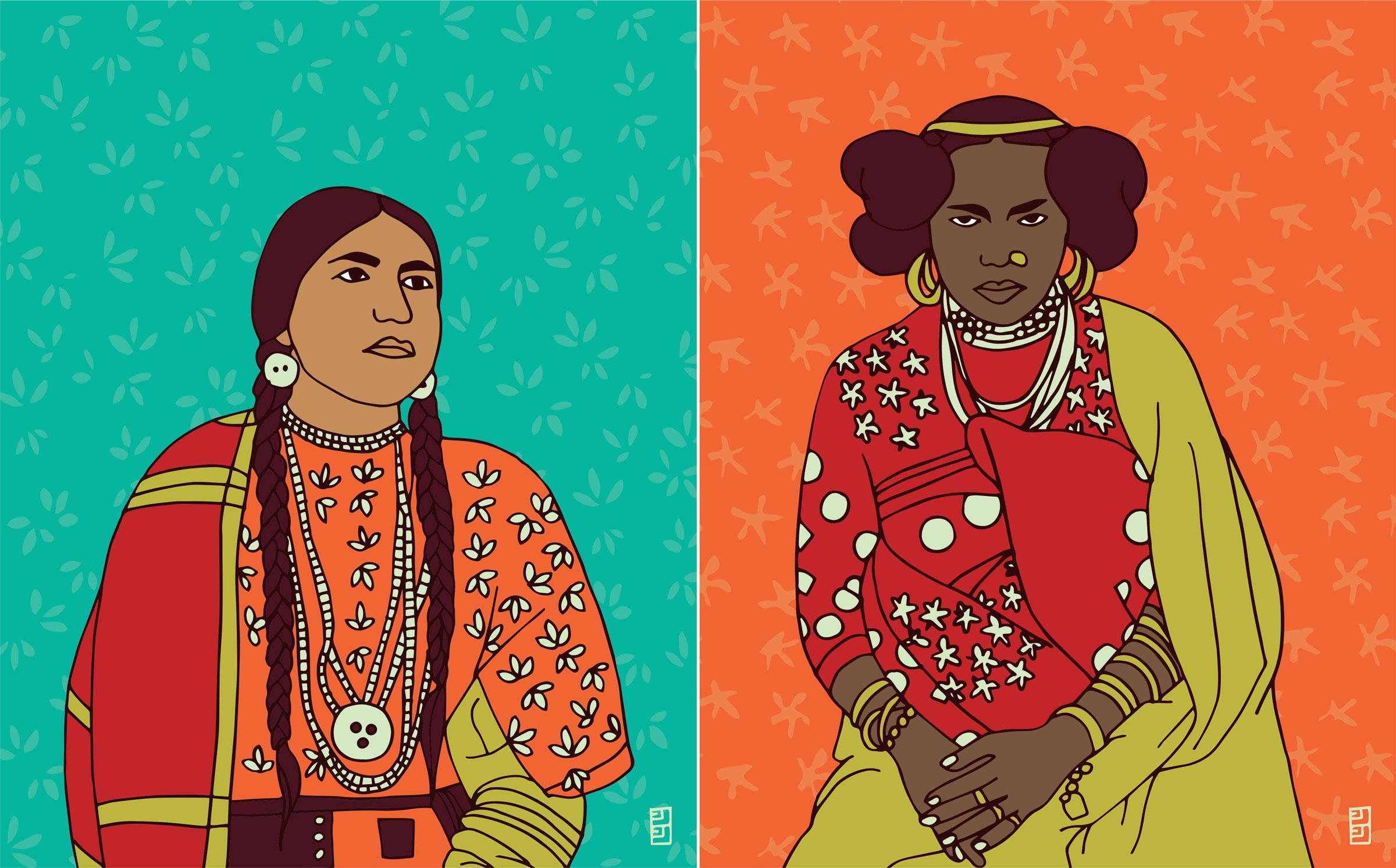 International-Womens-Day-Lulu-Kitololo-Illustrated-Portraits-2
